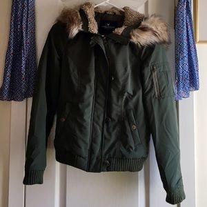 2d5e5c8d2 ⭐️ AEO flight bomber jacket, NWOT ⭐️