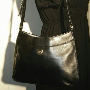 AIGNER Vintage Leather Bag