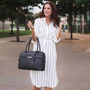 Marks & Spencer Dresses & Skirts - NWT Marks & Spencer striped shirt dress