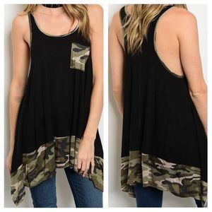 Tops - New -Black Olive Top