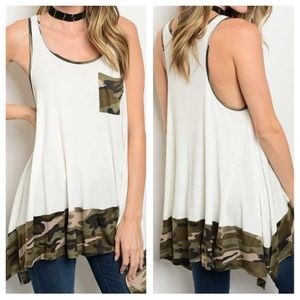 Tops - New - Ivory Olive Top