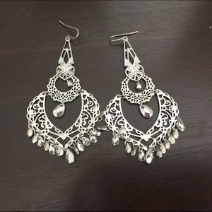 Jewelry - Chandelier Silhouette Earrings