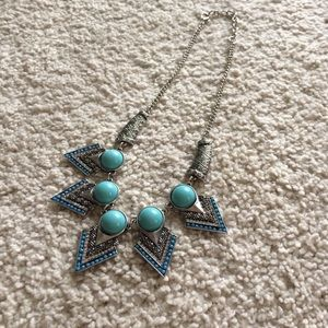 Jewelry - DONATING SOON! Faux turquoise statement necklace