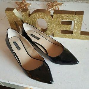 Patent leather Shoemint heels