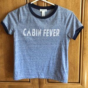 Full Tilt Tops - Cabin Fever ringer top