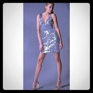 Sequined Holliday Party Dress by BCBG MAXAZRIA