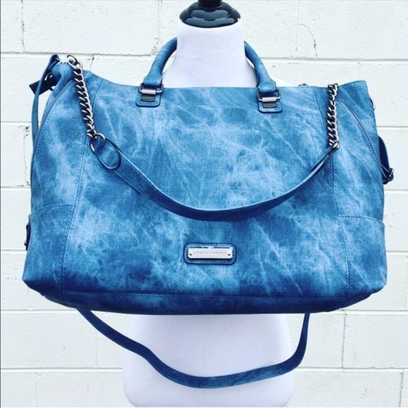 3b655cde73 Steve Madden Bags | Vegan Leather Denim Look | Poshmark