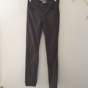 Madewell olive pants, size 24