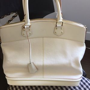 Louis Vuitton Curi Suhali White Large Bag
