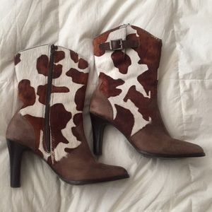 """Free People Shoes - Matisse Pony hair Heeled leather Boots 6.5"""""""