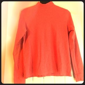 Salmon colored long sleeve shirt
