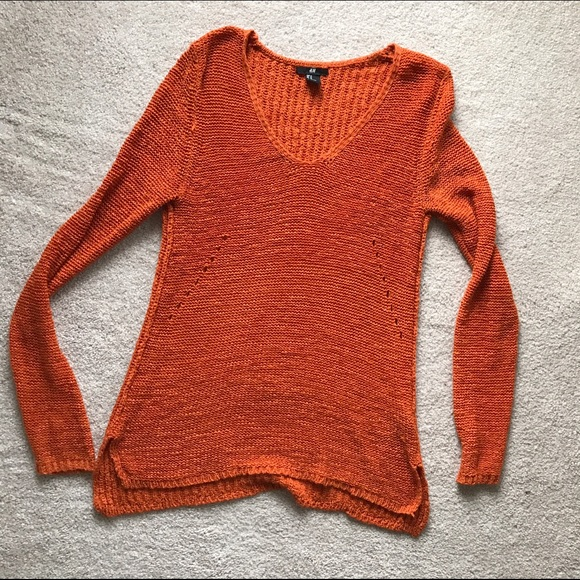 H&M Sweaters - Burnt Orange Sweater