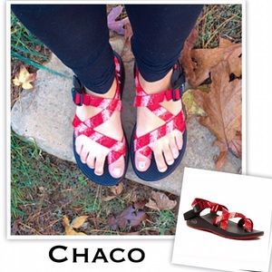 Chaco Shoes - *Last Pair• Chaco Red Z2 Yampa Toe Loop Sandal-New