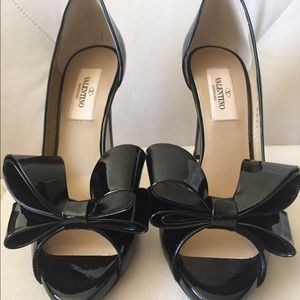 Valentino Shoes - NEW VALENTINO Couture Bow d'Orsay Pumps 35.5