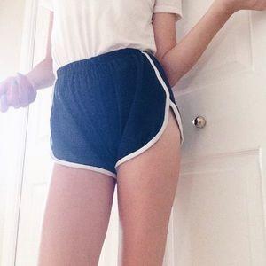 Navy Brandy Lissette Shorts