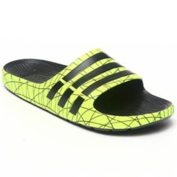online store a6ed2 69ca9 Adidas Shoes - Adidas Duramo slide mens 6 womens 8
