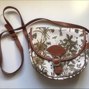 Authentic Vintage Gucci Flora Crossbody Bag