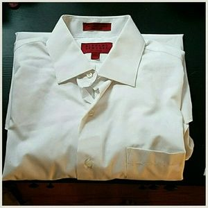 Bergamo Other - Clearout sale! Men's White fitted dress shirt