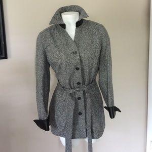 Nordstrom Wool & Leather Blazer