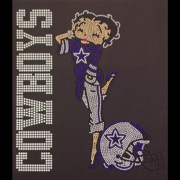 Betty Boop Dallas Cowboy Wallet