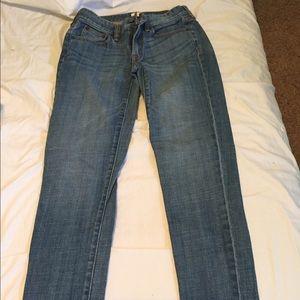 J Crew skinny jeans 26 stretch