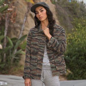 A.P.C. Jackets & Blazers - APC Vintage Camouflage Jacket