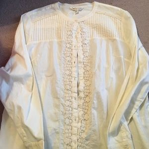 Krazy Kat Tops - Brand new with tags ivory shirt