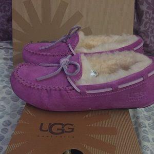UGG Other - Girls Ugg moccasins brand new last markdown