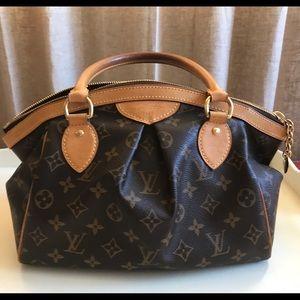 Authentic Louis Vuitton Tivoli Pm monogram satchel