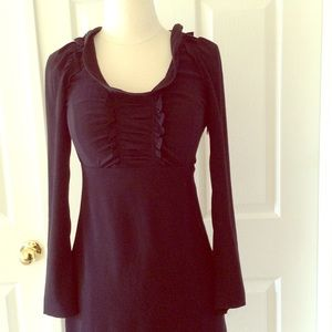 MIU MIU PRADA Made in ITALY Short black dress.