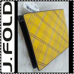 J. Fold  Other - J. Fold Slimfold Leather Wallet