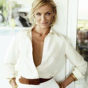 timing  Tops - Women's cream blouse