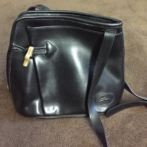 Longchamp Crossbody bag with bamboo toggle