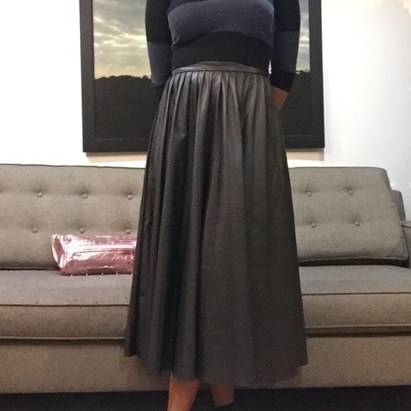 79 zara dresses skirts zara leather pleated