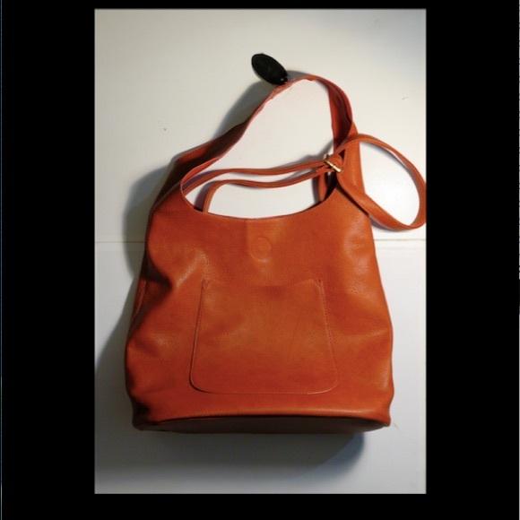 7a0b18986e26 JOY SUSAN Handbags - JOY SUSAN Paprika Molly Slouchy Hobo Handbag