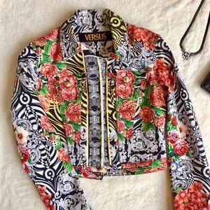 Versus By Versace Jackets & Blazers - Versus Versace Denim Jacket
