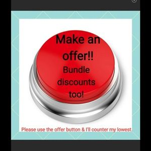 BUNDLE. SAVE!!! MAKE OFFER YOU NEVER KNOW!!