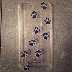 Kate Spade iPhone 5s/SE Pawprint case