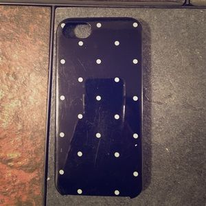 Kate Spade iPhone 5s/SE polka for case