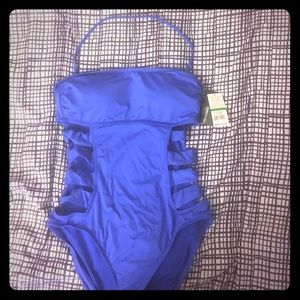 Brand new Kenneth Cole one-piece bathing suit.