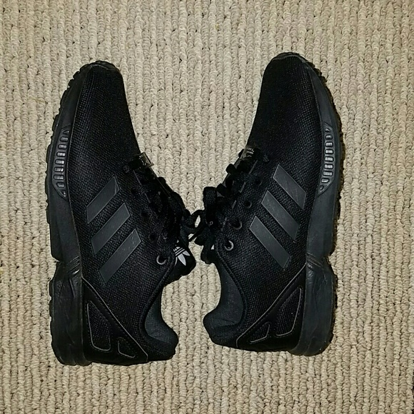 88bada6a68b96 Adidas Other - All Black Kids Adidas ZX Flux