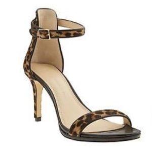 BR Leopard Calf Hair Sandals