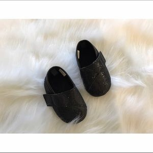 STEPPING STONES Other - BLACK GLITTER BABY SHOES