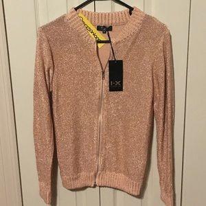 Boohoo Sweaters - BNWT Boohoo Boutique Heavy Knit Metallic Sweater M