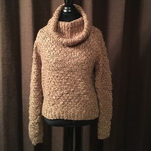 Vivienne Tam Sweaters - Beautiful Rich Beige Warm Winter Cowl Sweater