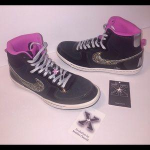 Nike Shoes - Nike Terminator High Top + Swarovski crystals 6805198fa5