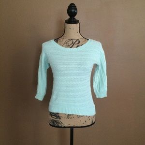FLASH SALE Mint blue half sleeve