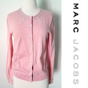 Marc Jacobs Sweaters - ⬇SALE⬇Rhinestones and Buttons Cardi