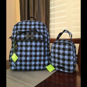 Vera Bradley Handbags - NWT VERA BRADLEY BACKPACK & LUNCH BAG SET