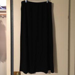 ❣️Black knit Maxi skirt